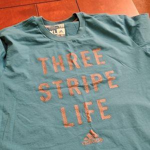 Adidas short sleeve tshirt